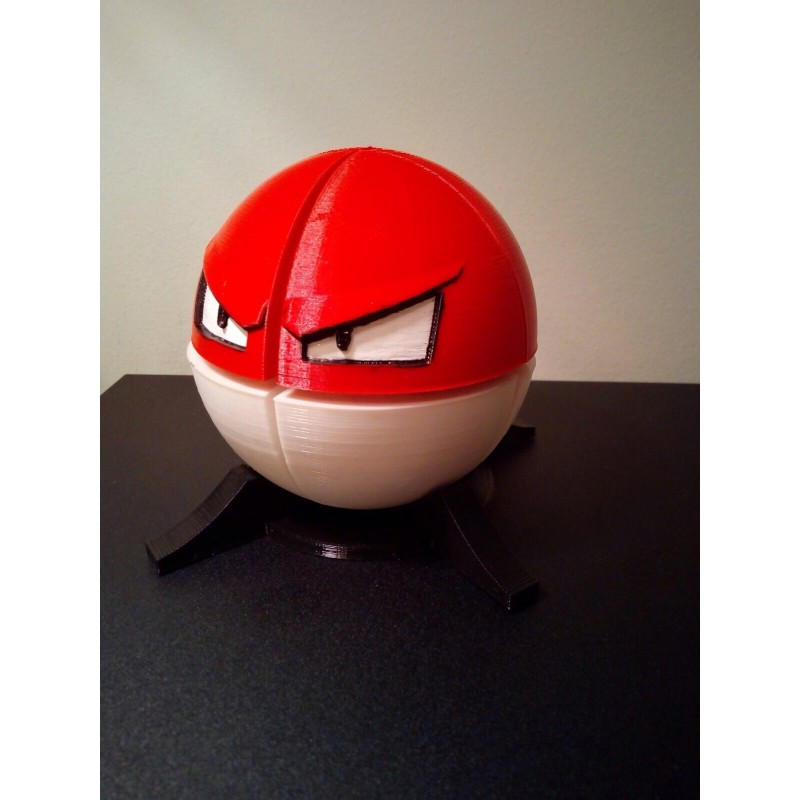 Pokemon Voltorb Cubo 2x2 Modificacion Kubokia