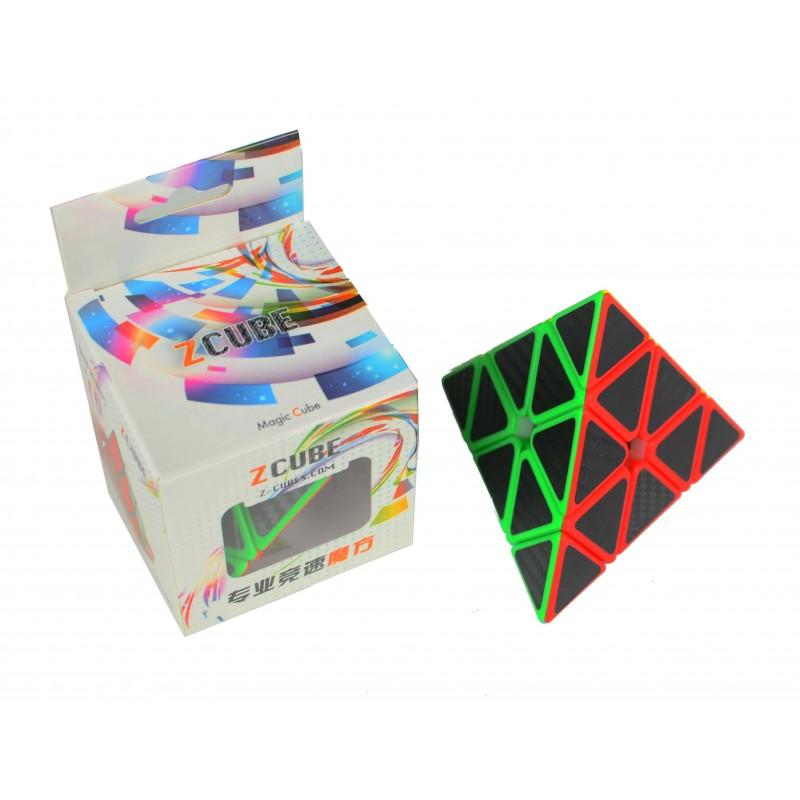 Z-Cube Pyraminx Fibra de Carbono
