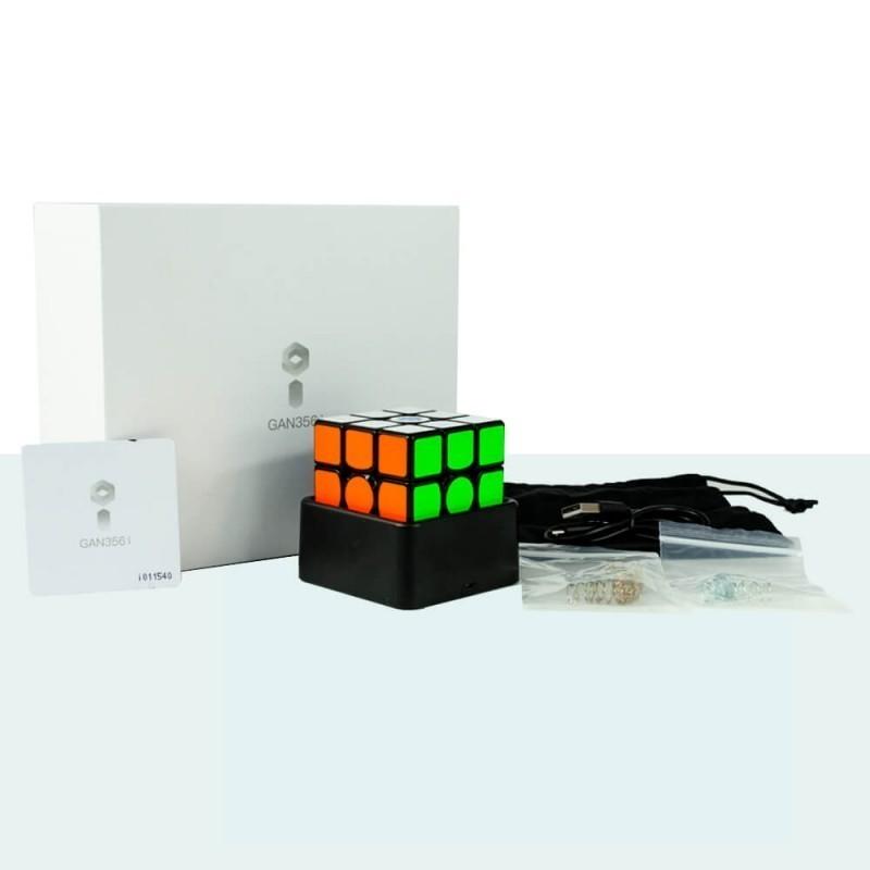 Gan 356 I Inteligente magnético negro