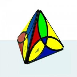 Qiyi Pyraminx Clover Negro
