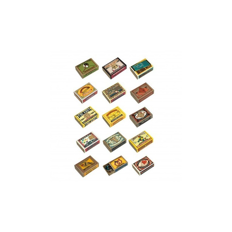 Matchbox Puzzle Mini Pack 15