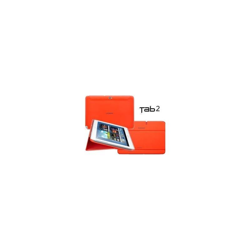 "Samsung EFC-1H8SOECSTD  Book Cover Galaxy Tab 2 10.1"" Naranja"