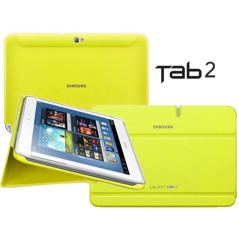 """Samsung EFC-1H8SMECSTDBook Cover Galaxy Tab 2 10.1""""White"""